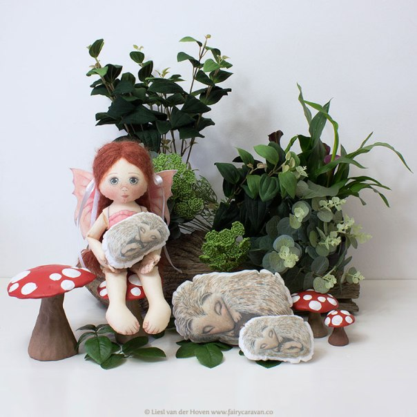 Fairy Caravan - Handmade Fairy Doll | via The Design Tabloid