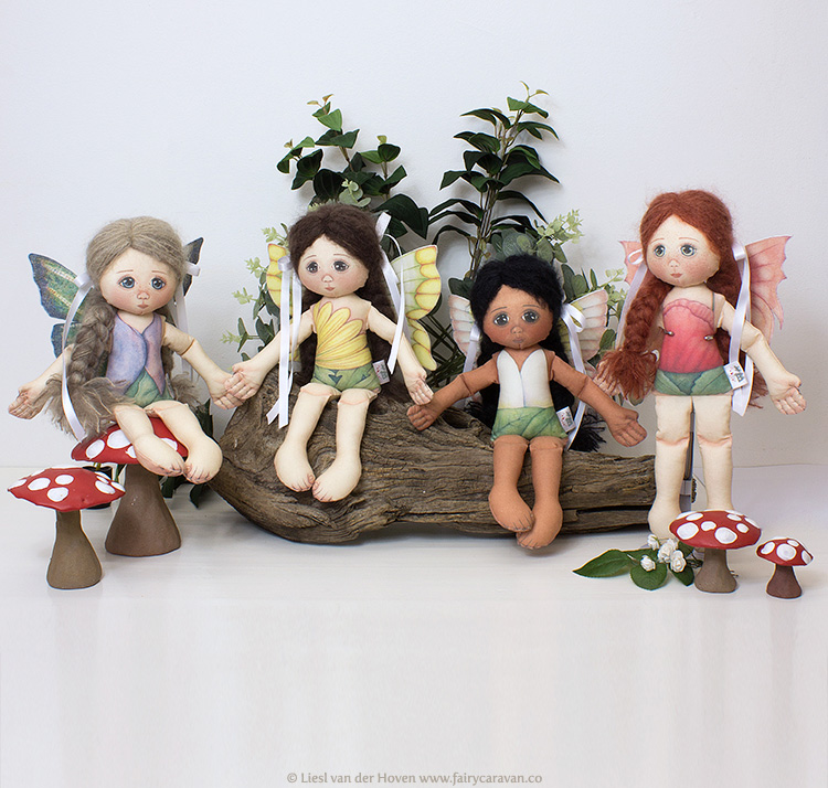 Fairy Caravan - Fairy Dolls | via The Design Tabloid