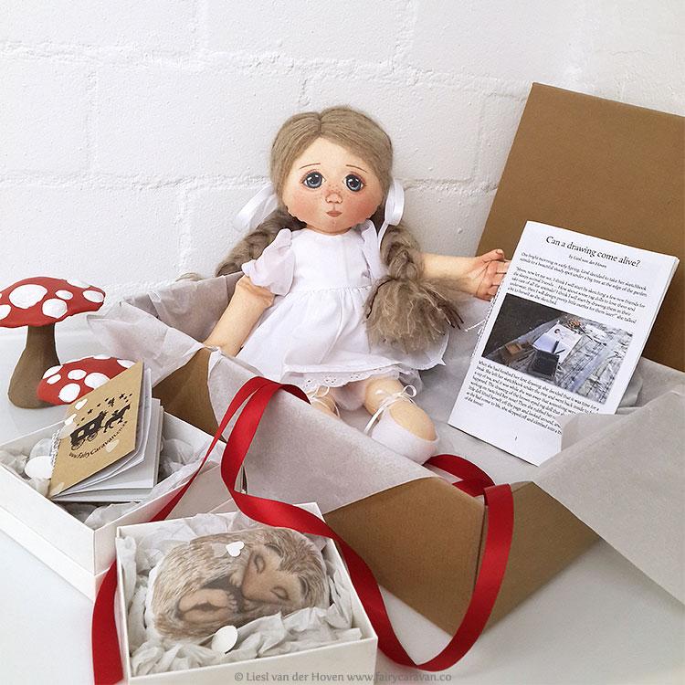 Fairy Caravan - Handmade Dolls | via The Design Tabloid