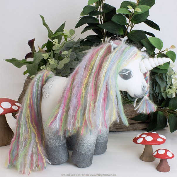 Fairy Caravan - Unicorn Doll | via The Design Tabloid