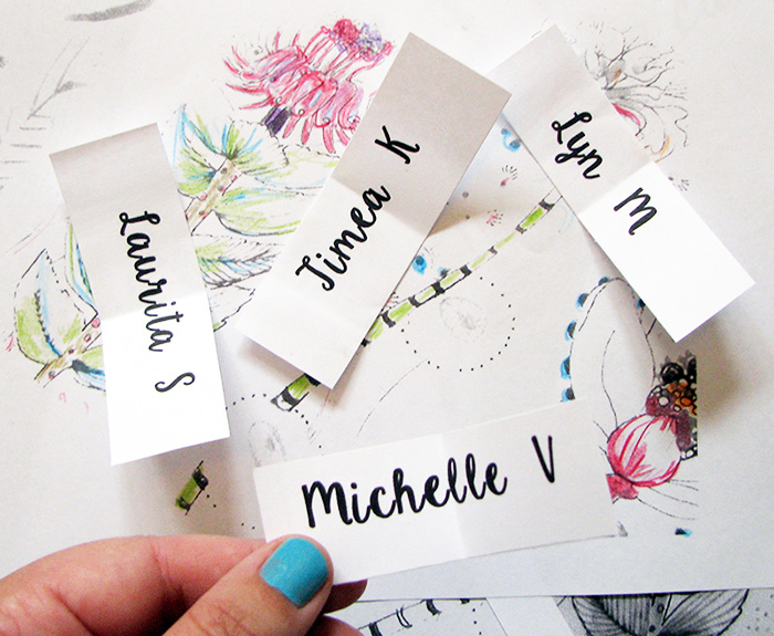 Leila Fanner Greeting Card Giveaway Winners