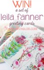 WIN 3 Beautiful Leila Fanner Greeting Cards