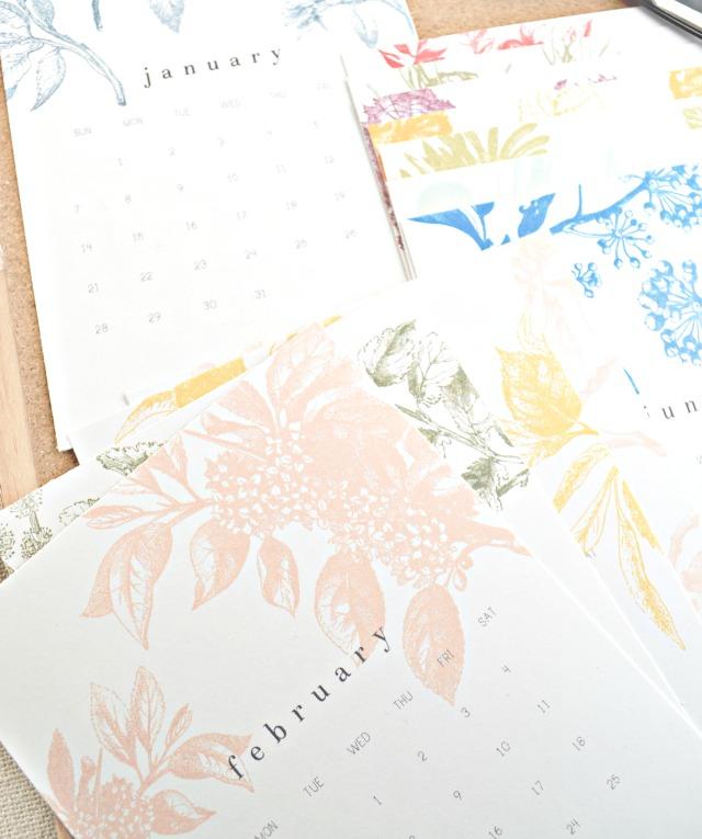 10 Free Printable Calendars 2017