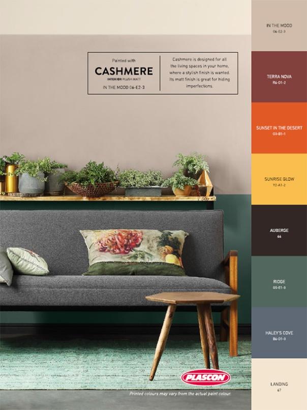 Plascon Colour Forecast 2017