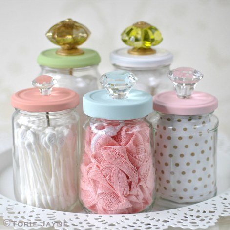 Decorating Quick Tips: Glass Storage Jars