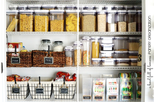 10 Hacks to Organise Your Kitchen: Pantry Baskets