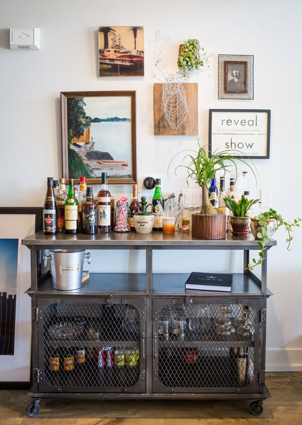 10 Beautiful Bar Carts