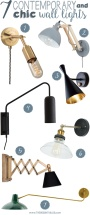 7 Contemporary & Chic Wall Lights for Your Home