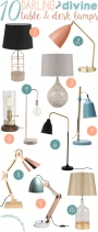10 Darling & Divine Table & Desk Lamps for Your Home