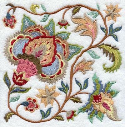 Define Jacobean Fabric Pattern