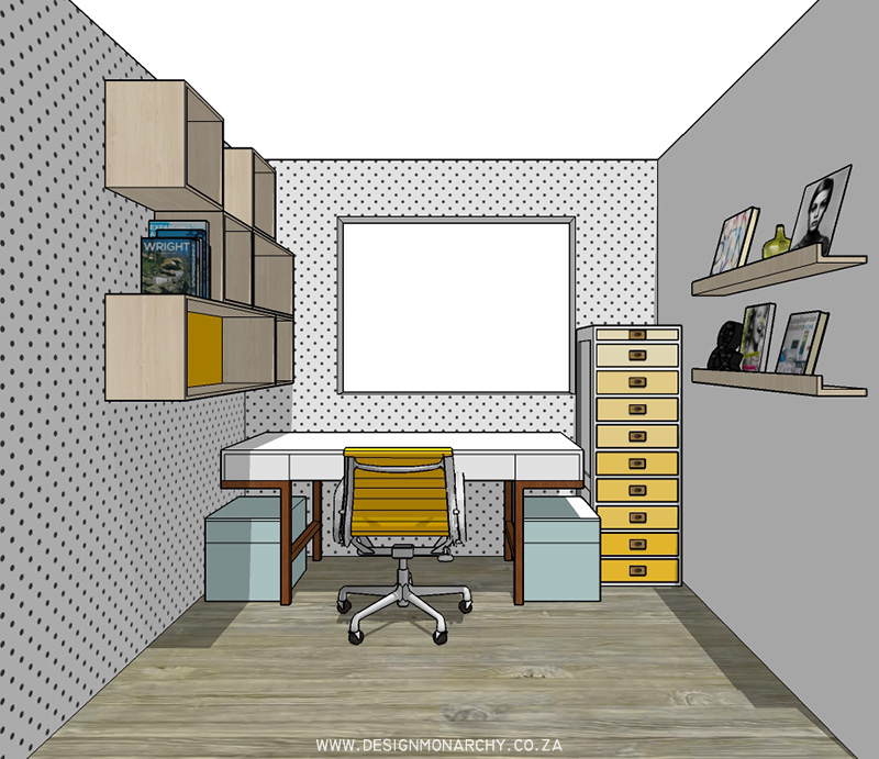 Quirky Workspace | Interiors by Design Monarchy