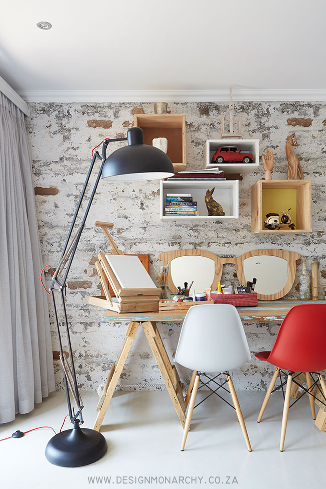 Quirky Workspace Before & After | Interiors by Design Monarchy