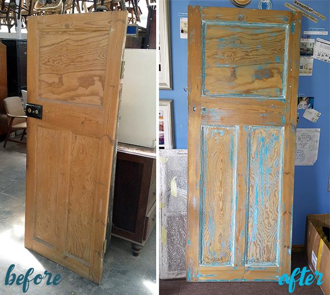 Vintage Door Desk