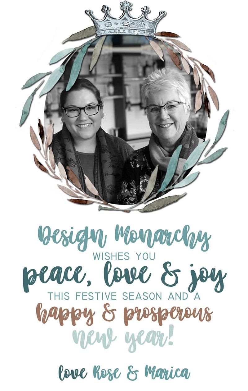 Design Monarchy Season's Greetings 2017