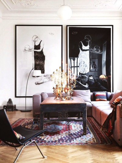 Pinterest Picks: Lovely Living Rooms