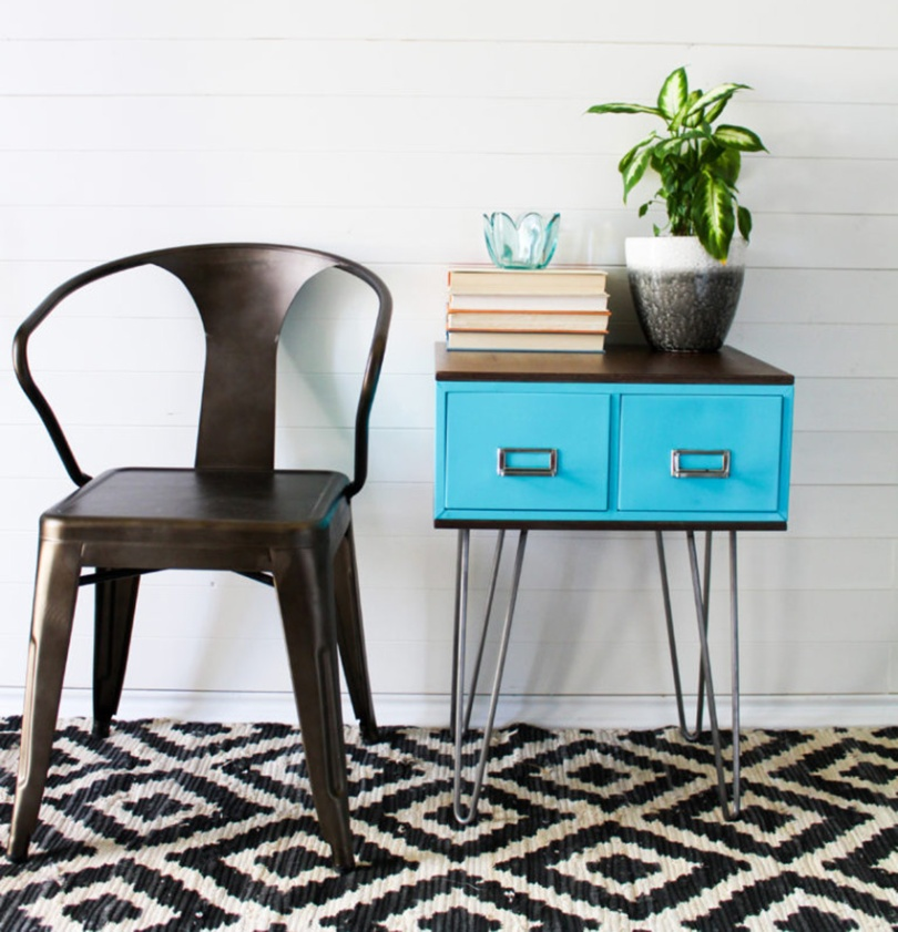 Decorating Quick Tip | Old Drawer Turned Table