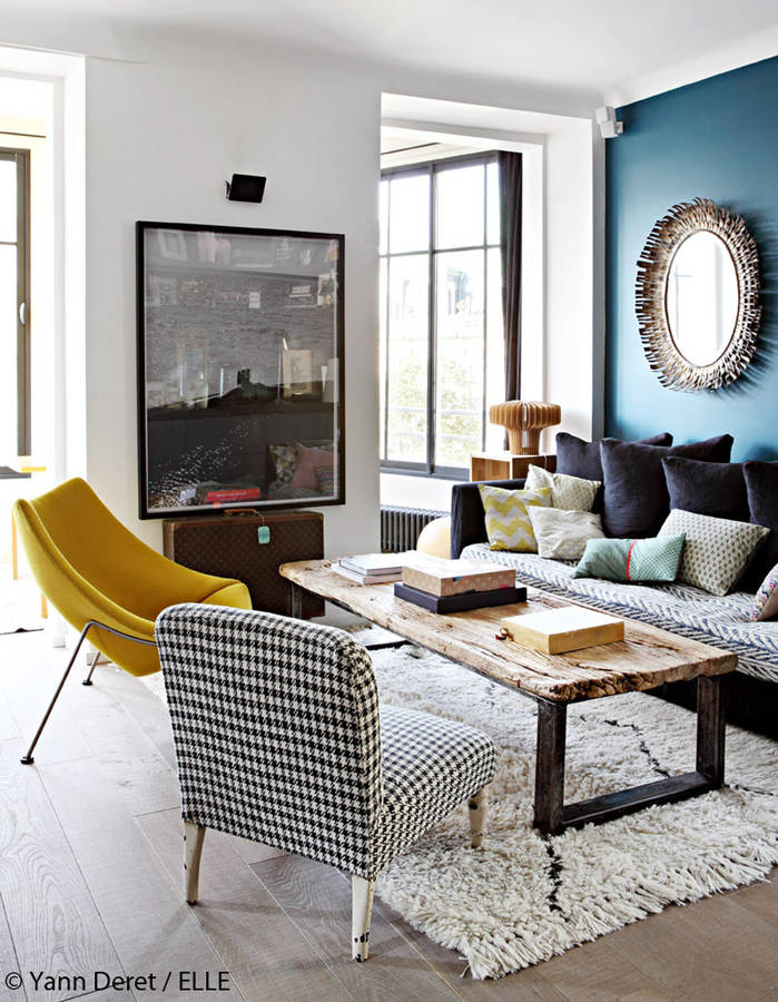 Bold & Bright Interiors | via thedesigntabloid.com