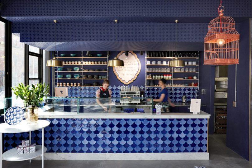Swan Café Crêperie | Interior by Haldane Martin