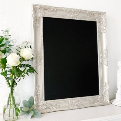 Decorating Quick Tip | Picture Frame Turned Chalkboard