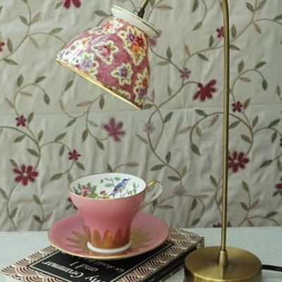 Decorating Quick Tip | Teacup Turned Light
