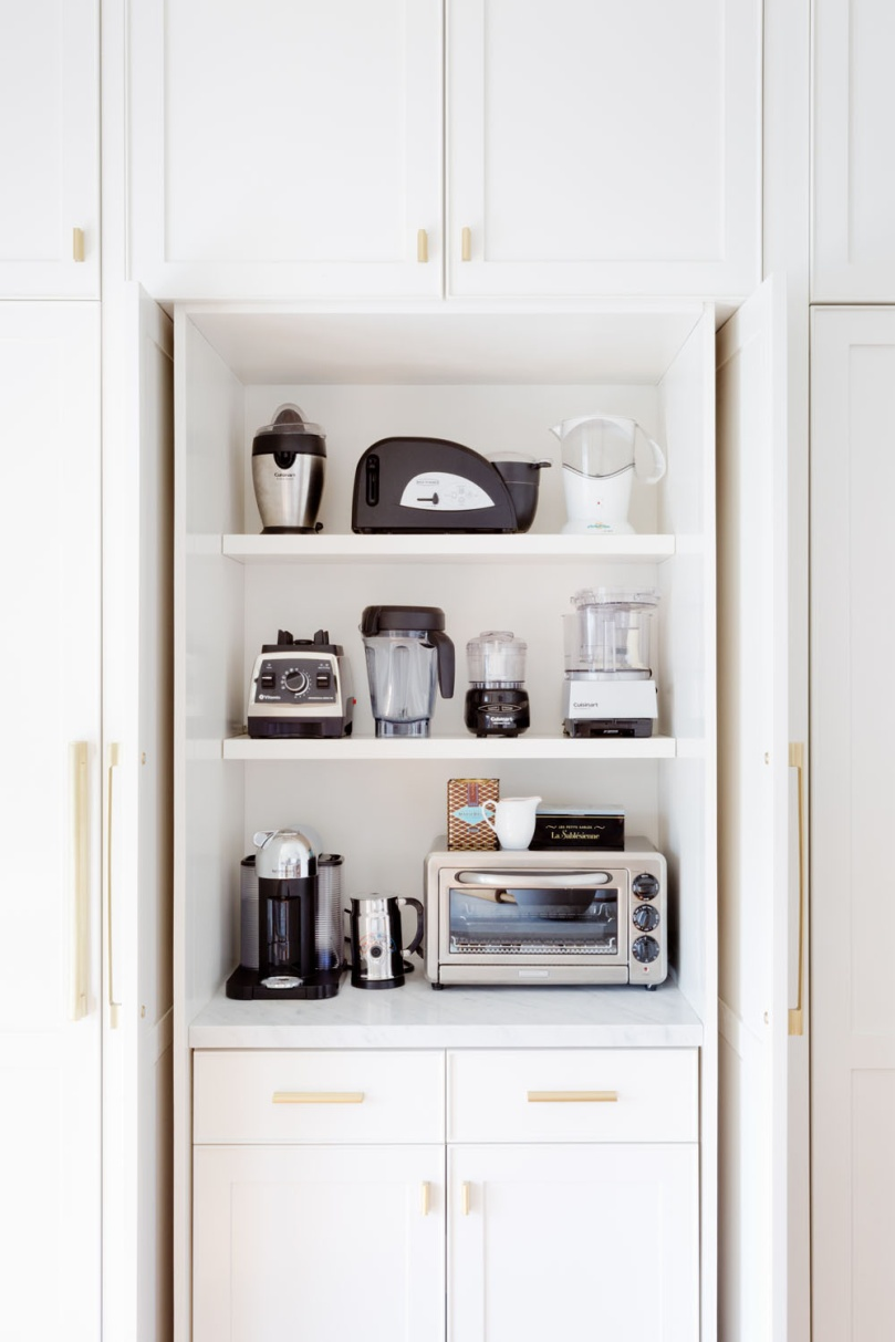 Stunning Kitchen Appliance Storage