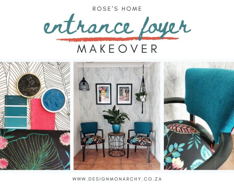 Room Reveal: Entrance Foyer Makeover | via Design Monarchy