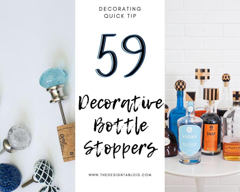 Decorating Quick Tip | Decorative Bottle Stoppers