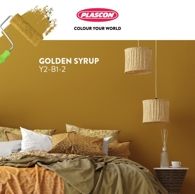 Plascon Favourite Hue of 2021: Golden Syrup